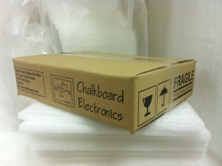 New parcel box