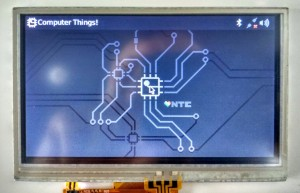 """4.3"""" LCD for C.H.I.P. board"""